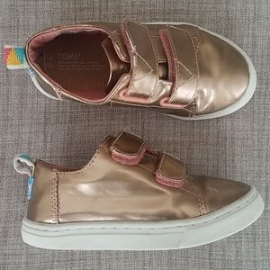 Gold Rose Toms Toddler Sneakers